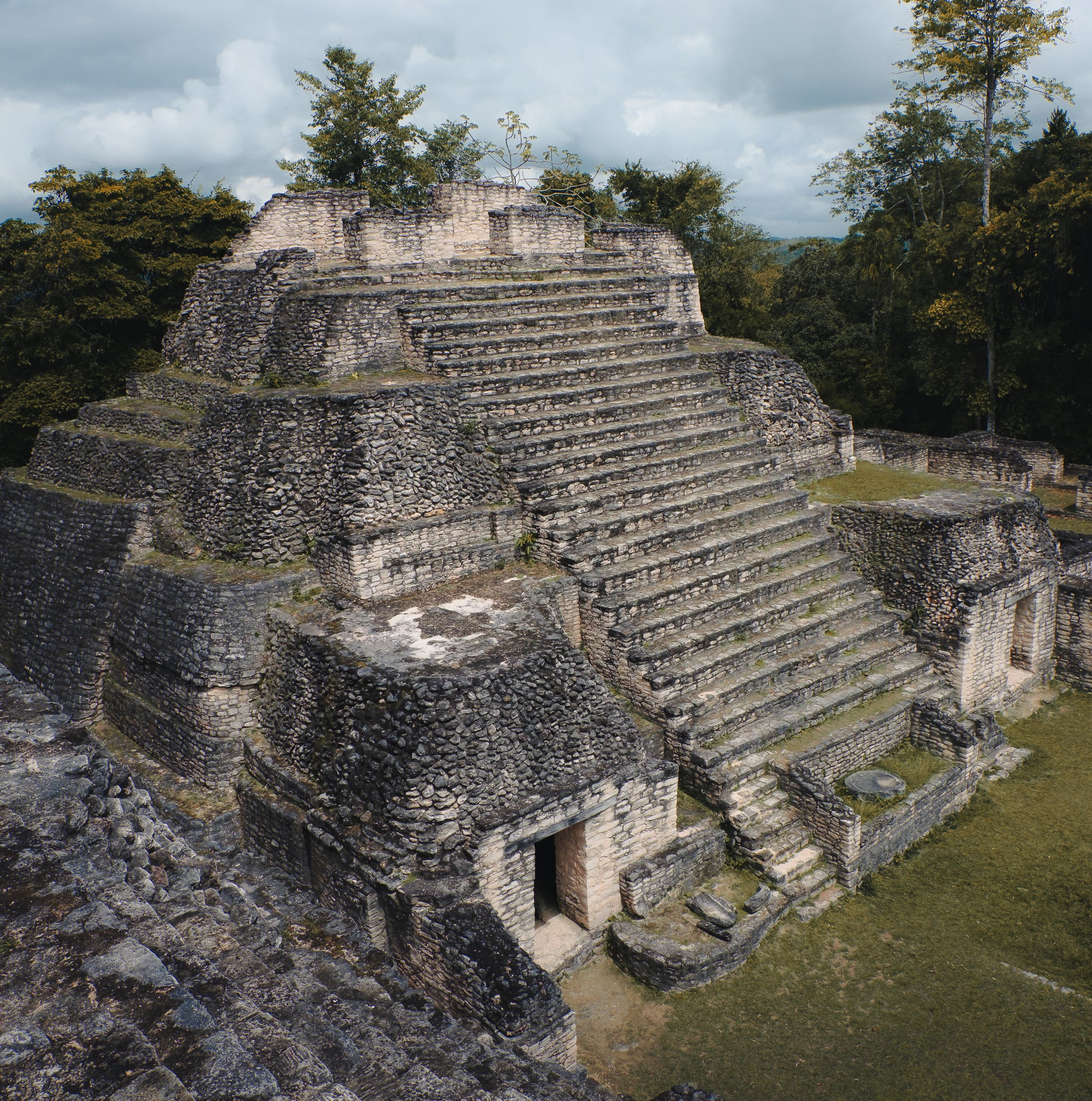 Sky Temple at Caracol, Belize
