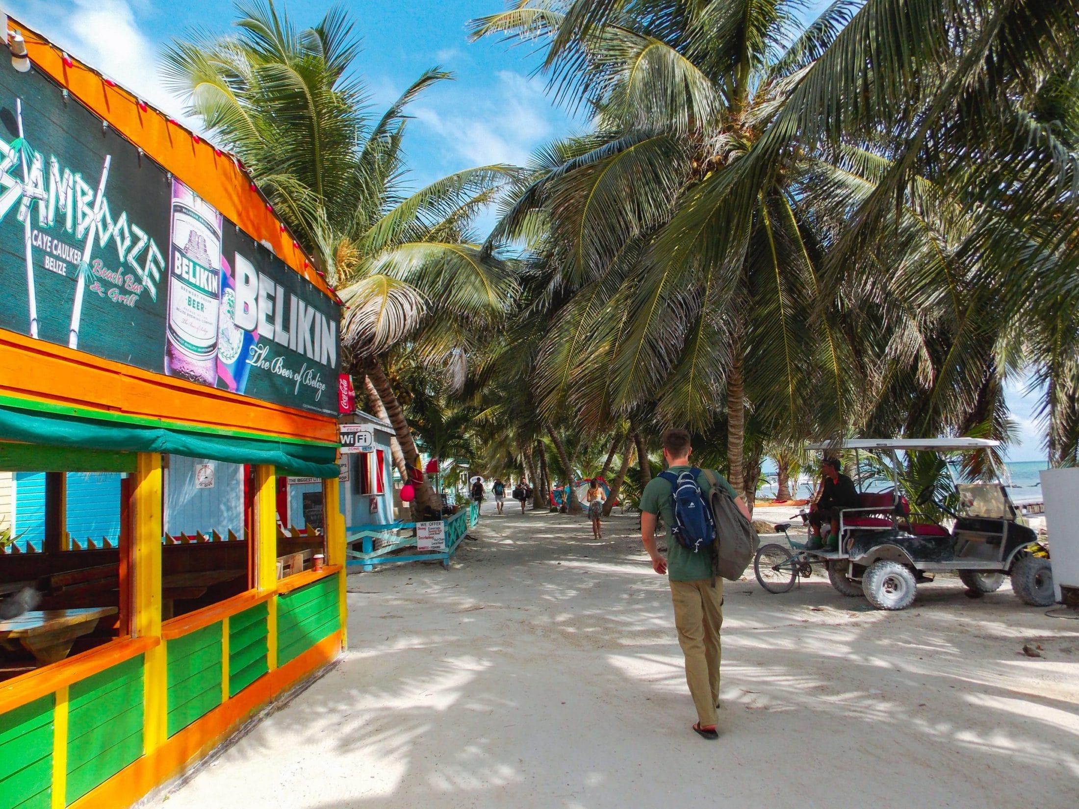 Traveling Caye Caulker Belize