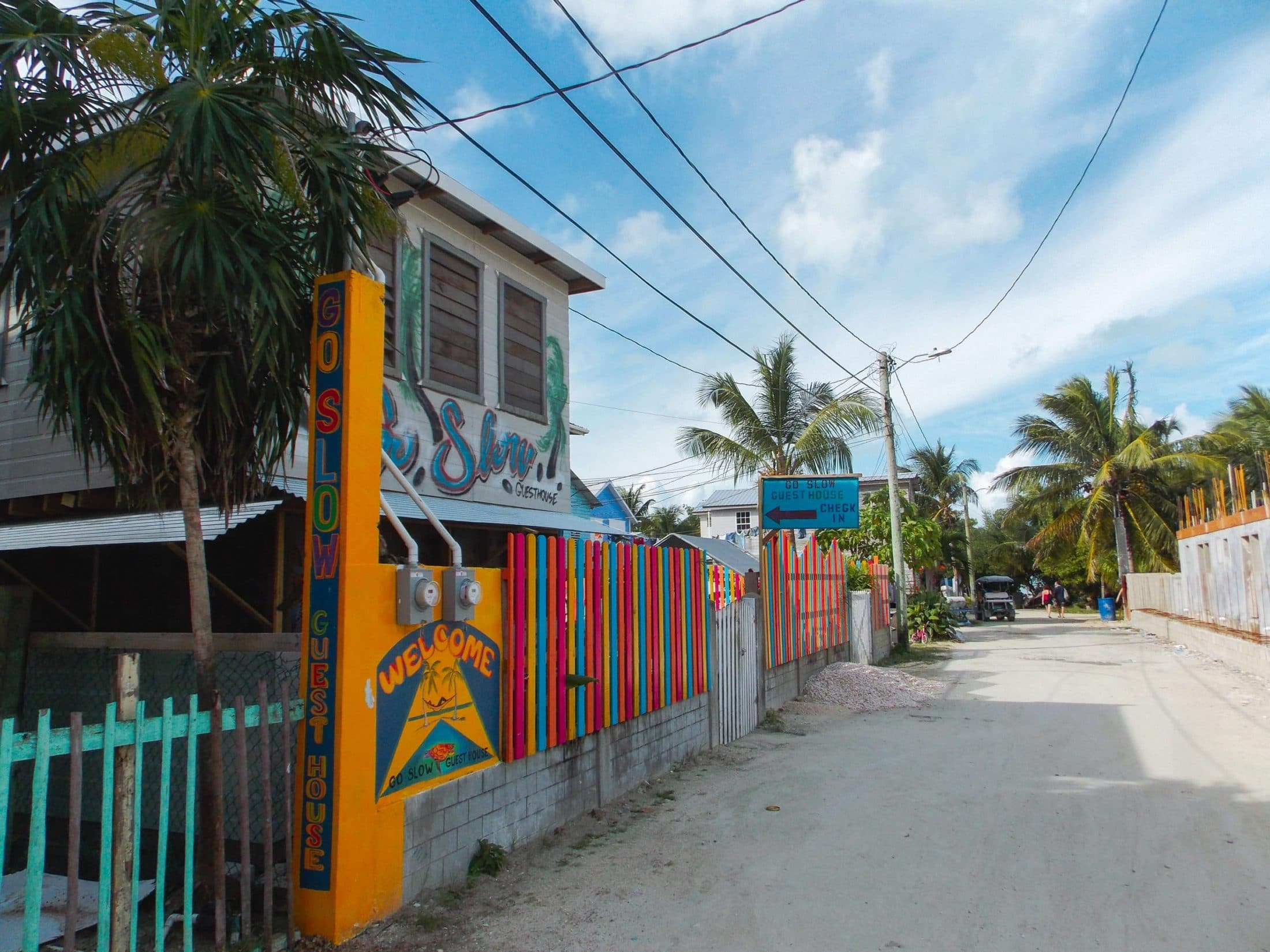 Where to stay on Caye Caulker