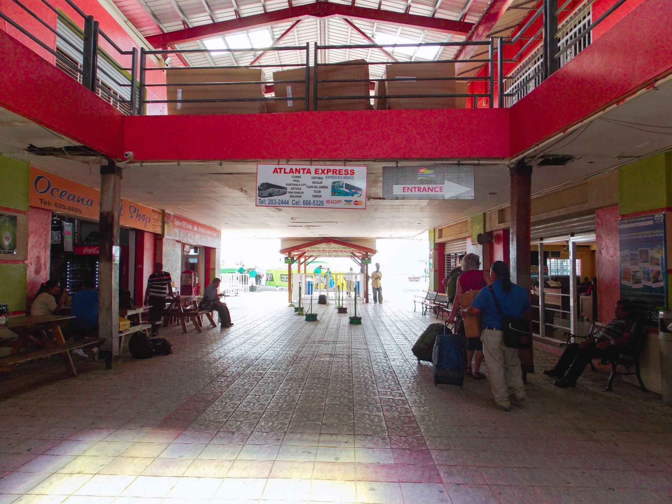 Getting to Caye Caulker