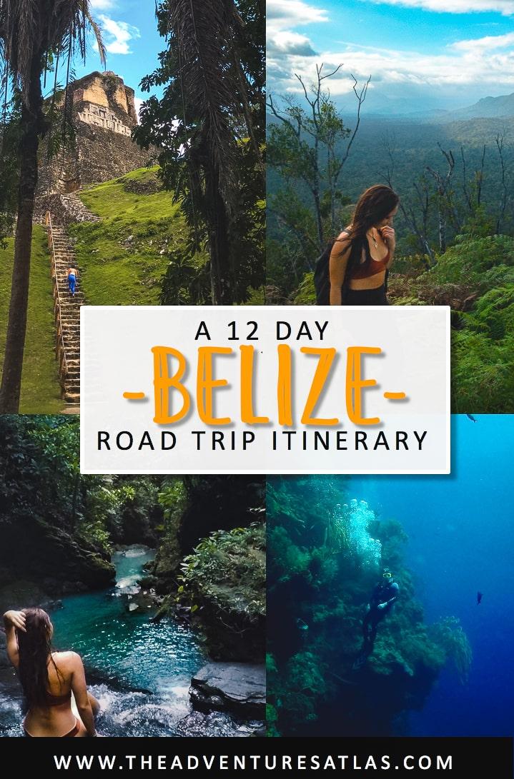 How to road trip Belize in 2 weeks, spending 2 weeks in Belize