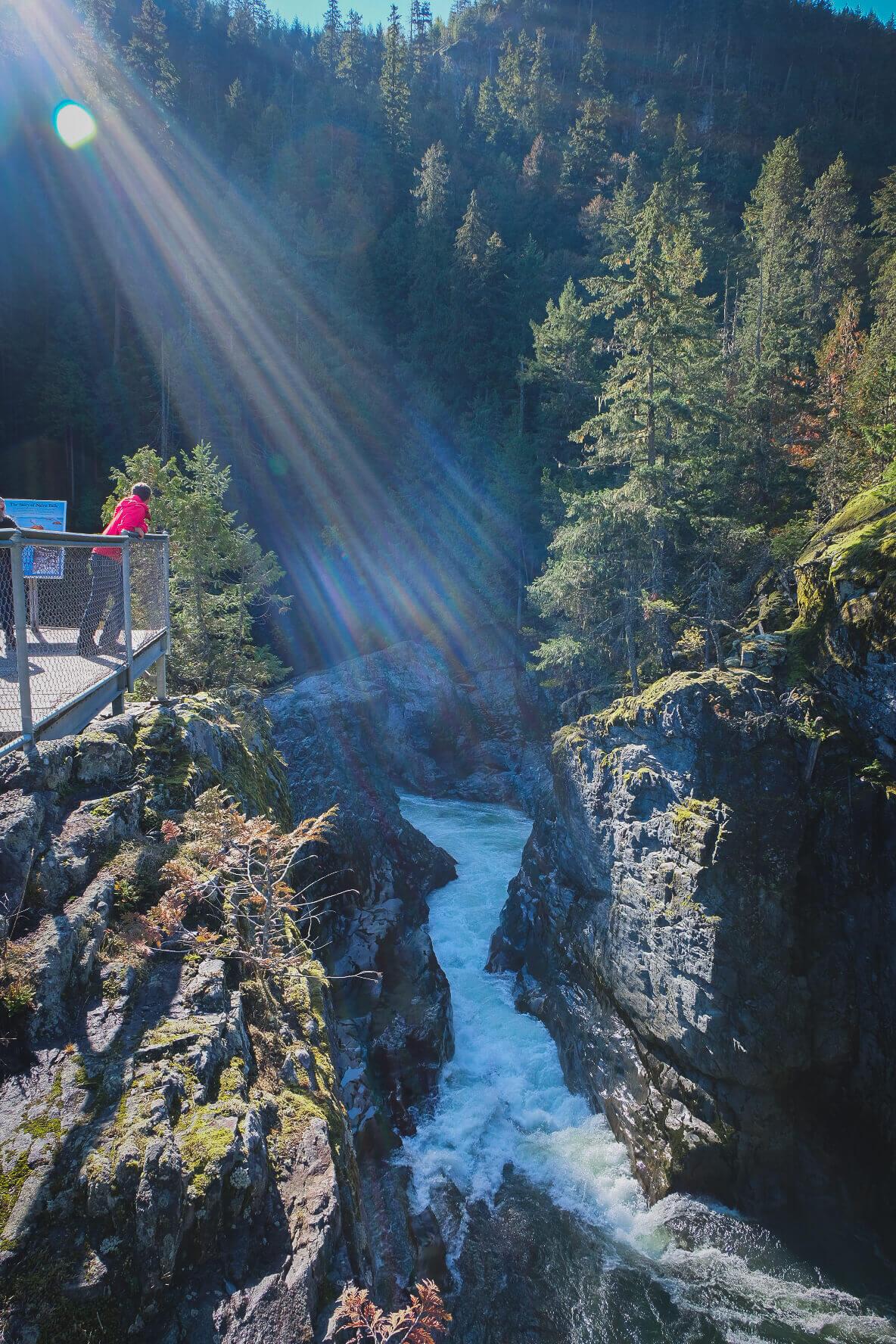 Nairn Falls, Waterfalls of British Columbia