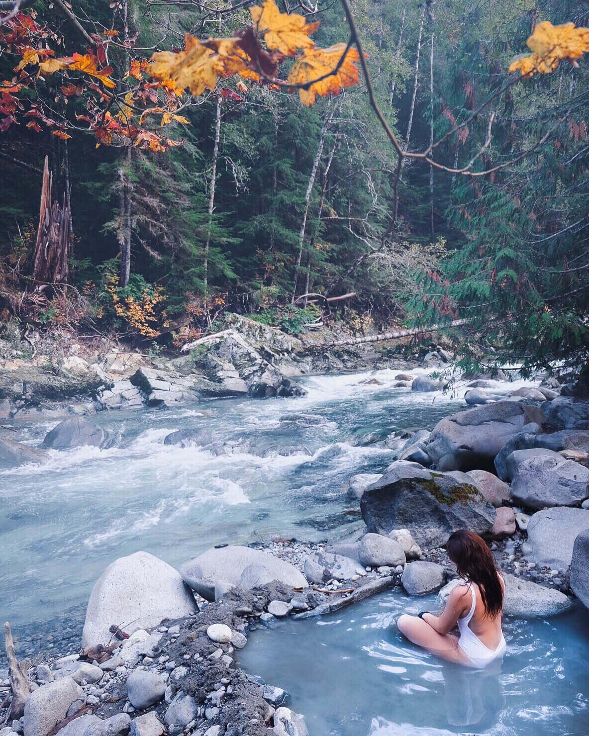 Sloquet Hot Springs, British Columbia