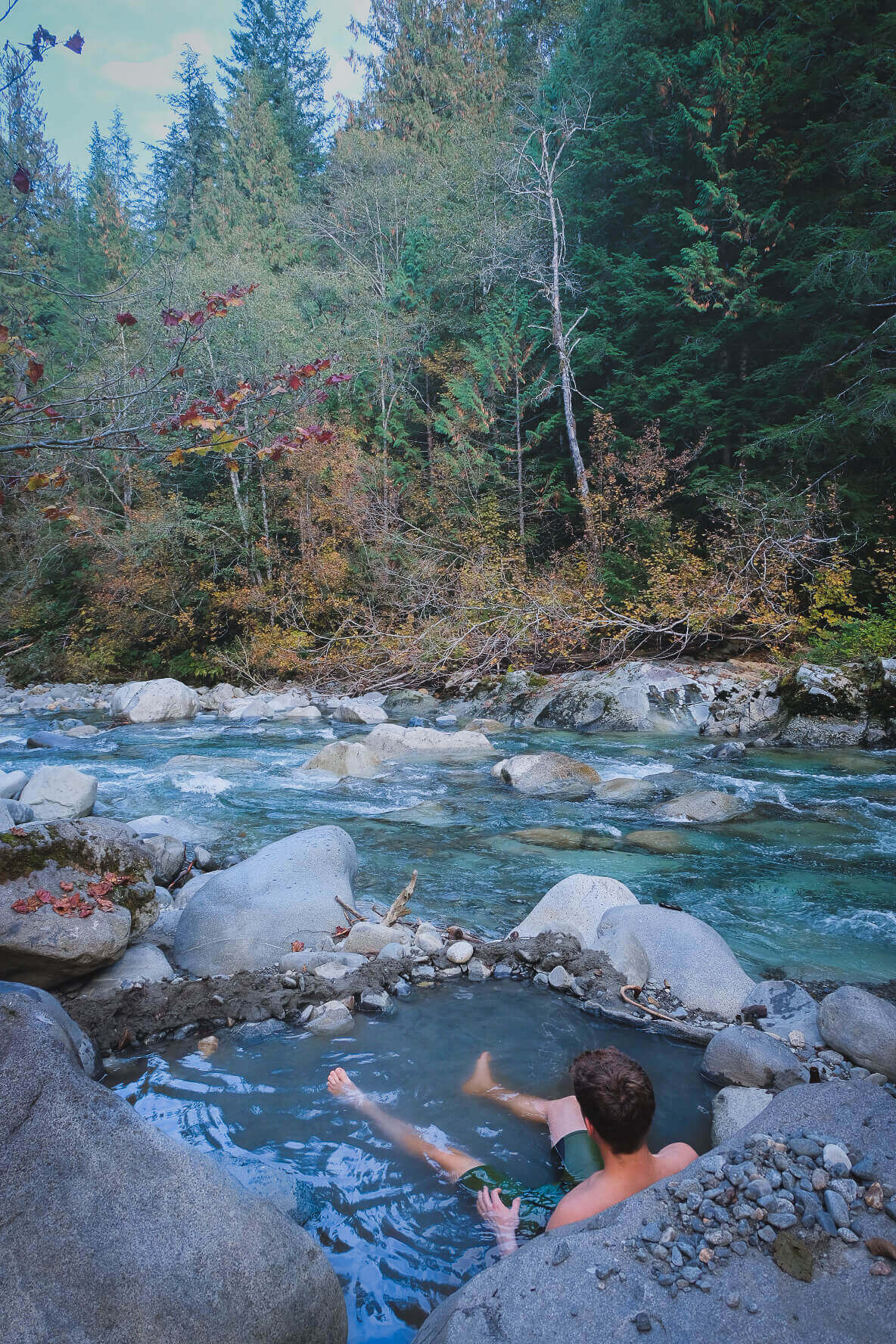 Visiting Sloquet Hot Springs outside Vancouver