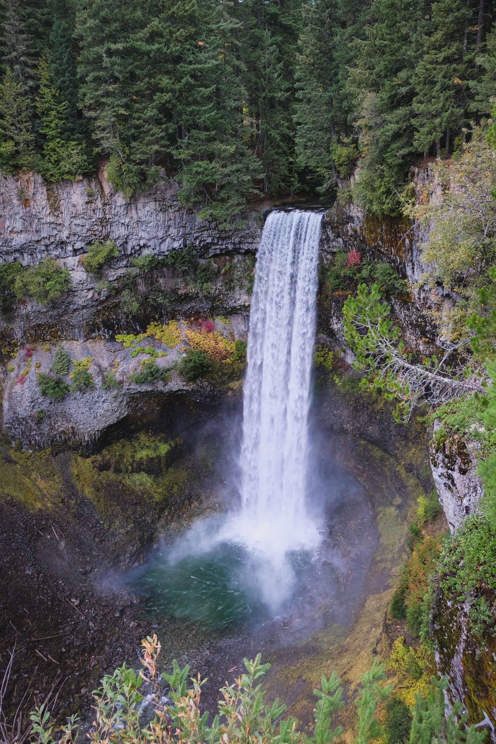 Top of Brandywine Falls, British Columbia