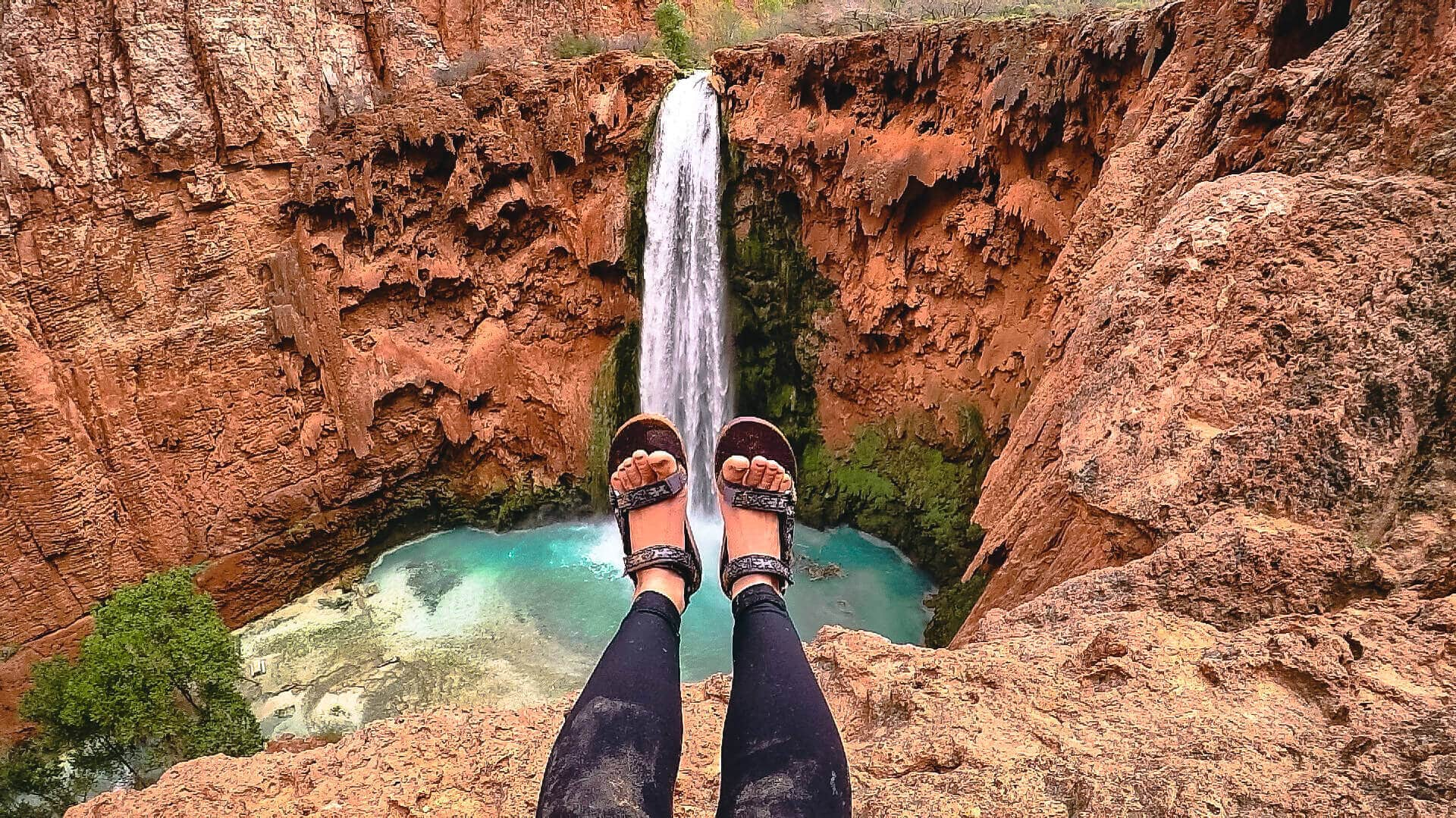 View of Mooney Falls