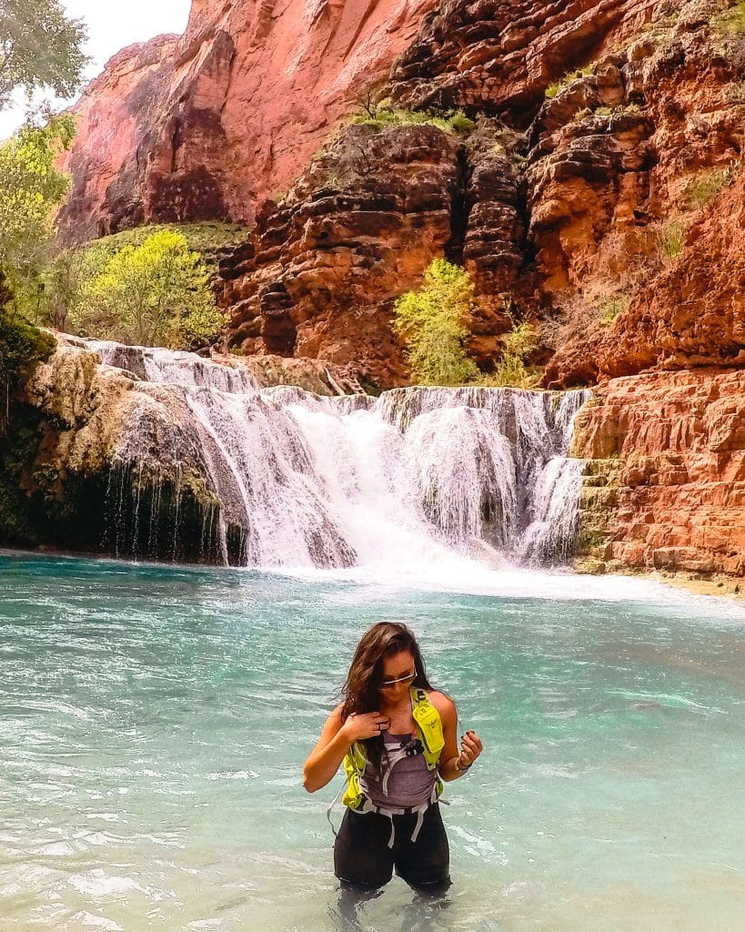 The hike to Beaver Falls in Havasu Canyon makes a great day trip during your visit to Havasupai