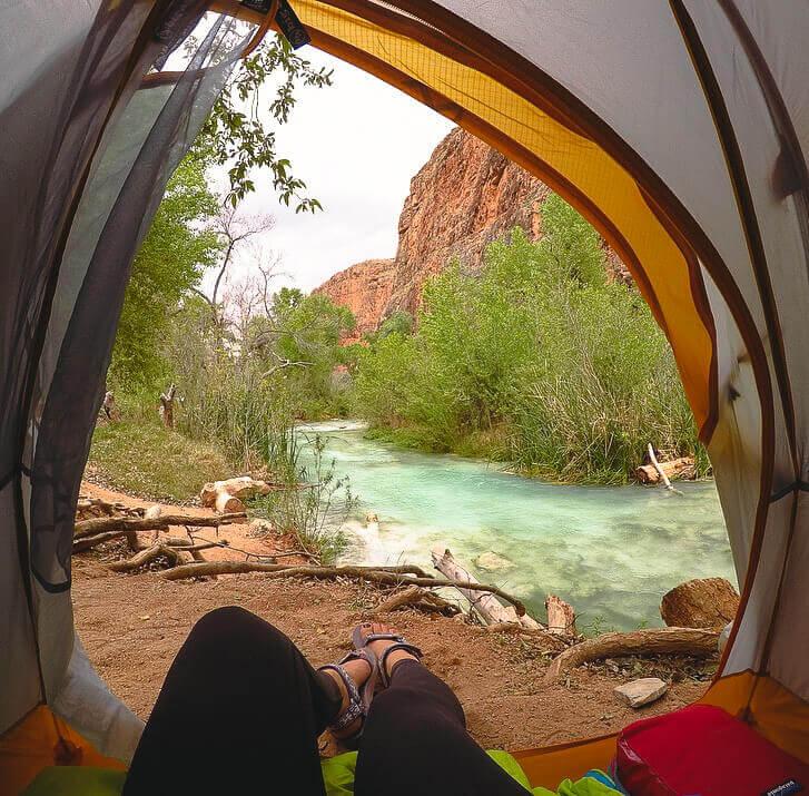 Havasu Campground on the river
