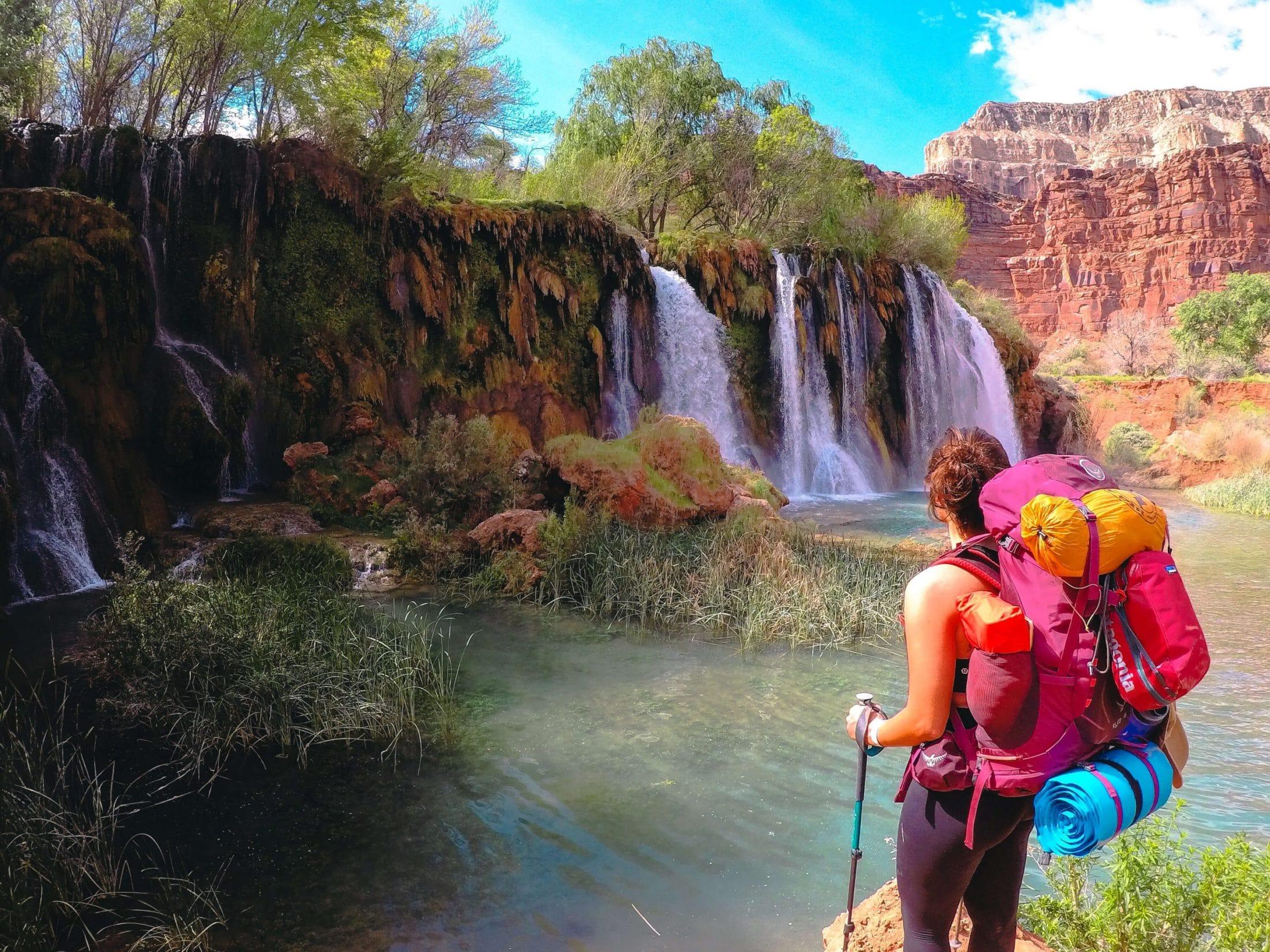 Navajo and Little Rock Falls at Havasupai