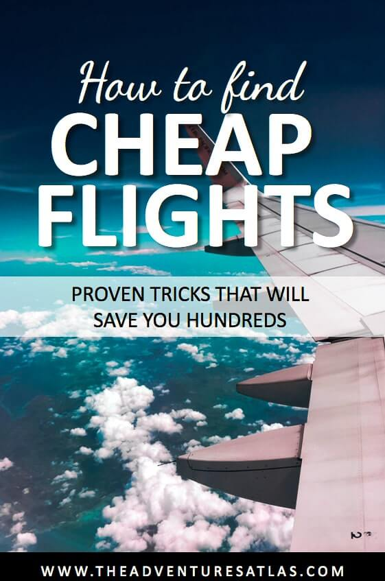 how to find cheap flights: proven tricks to save you hundreds