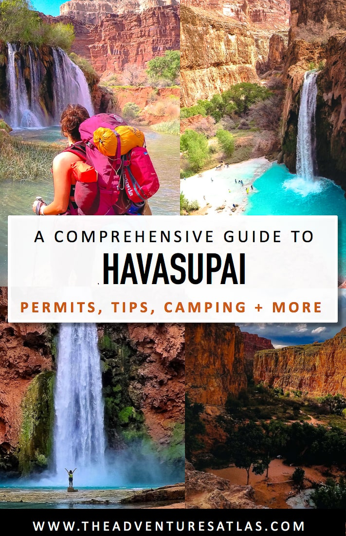 A Comprehensive Guide to Havasupai - Getting a Permit, Camping Tips, plus more.