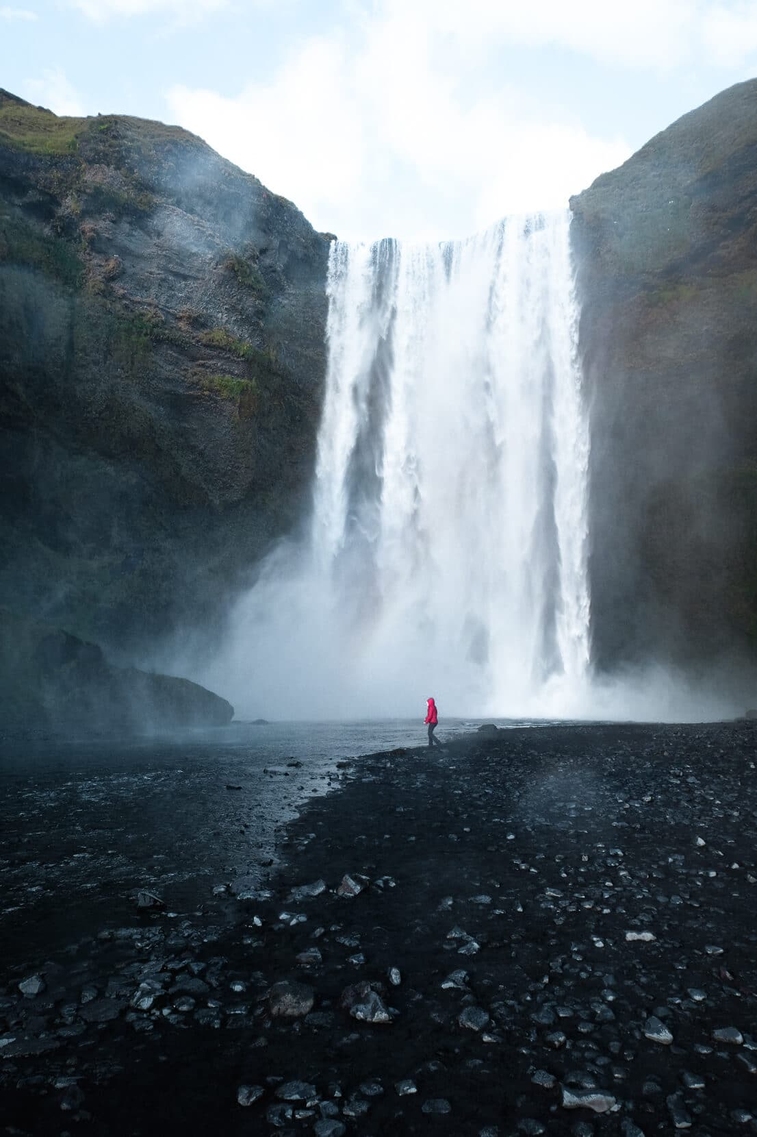 Best waterfalls of Icelands south coast