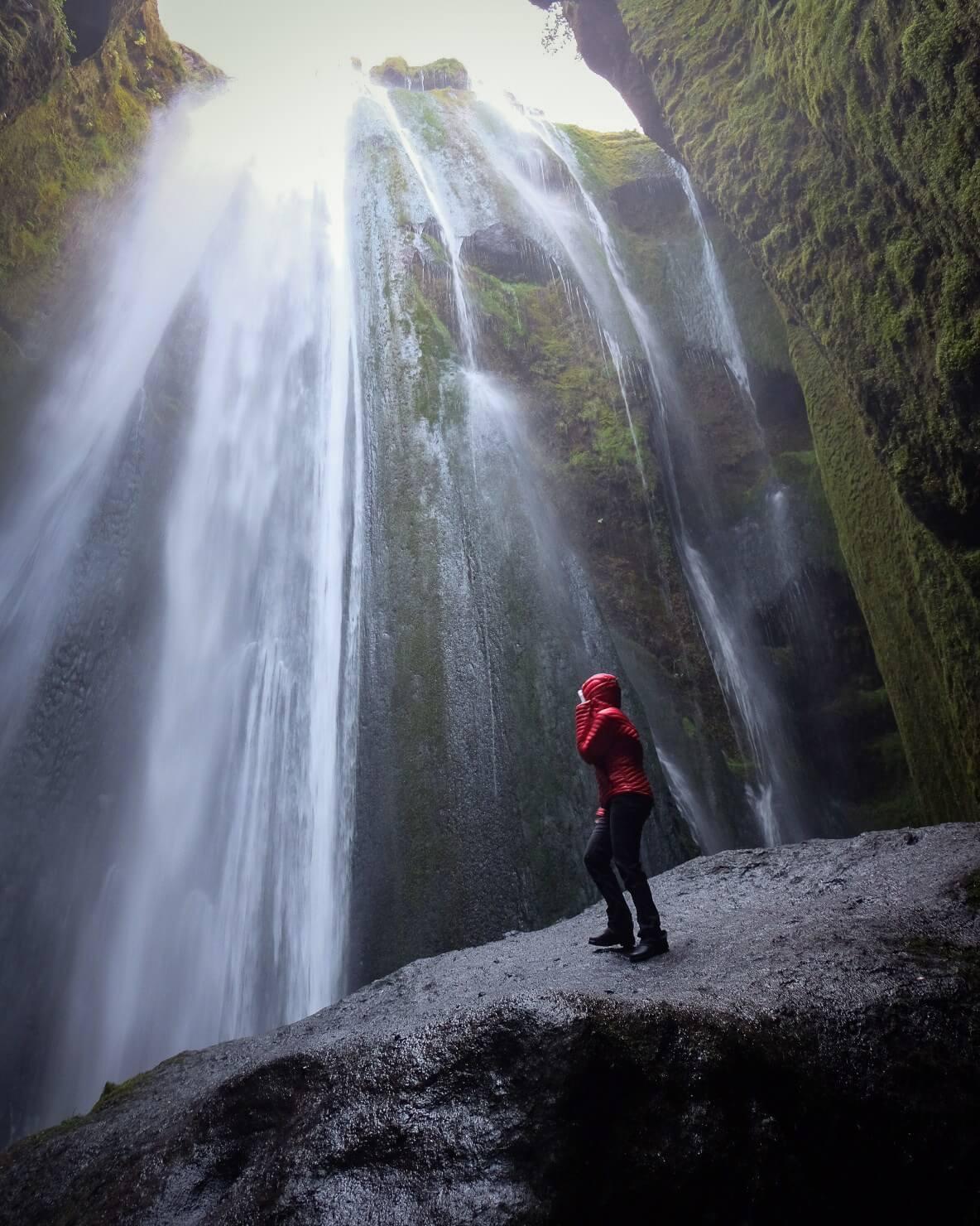 Gljúfrabúi waterfall Iceland