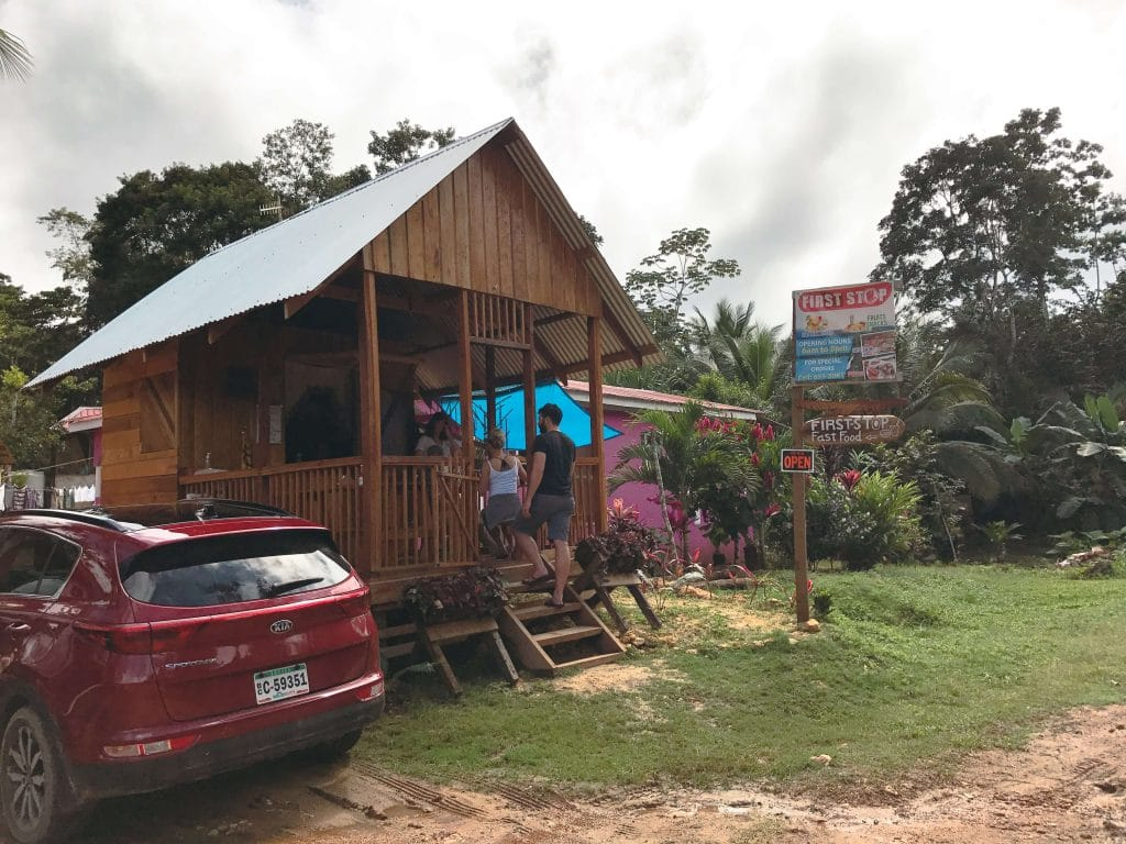 Where to get food near Caracol, Belize