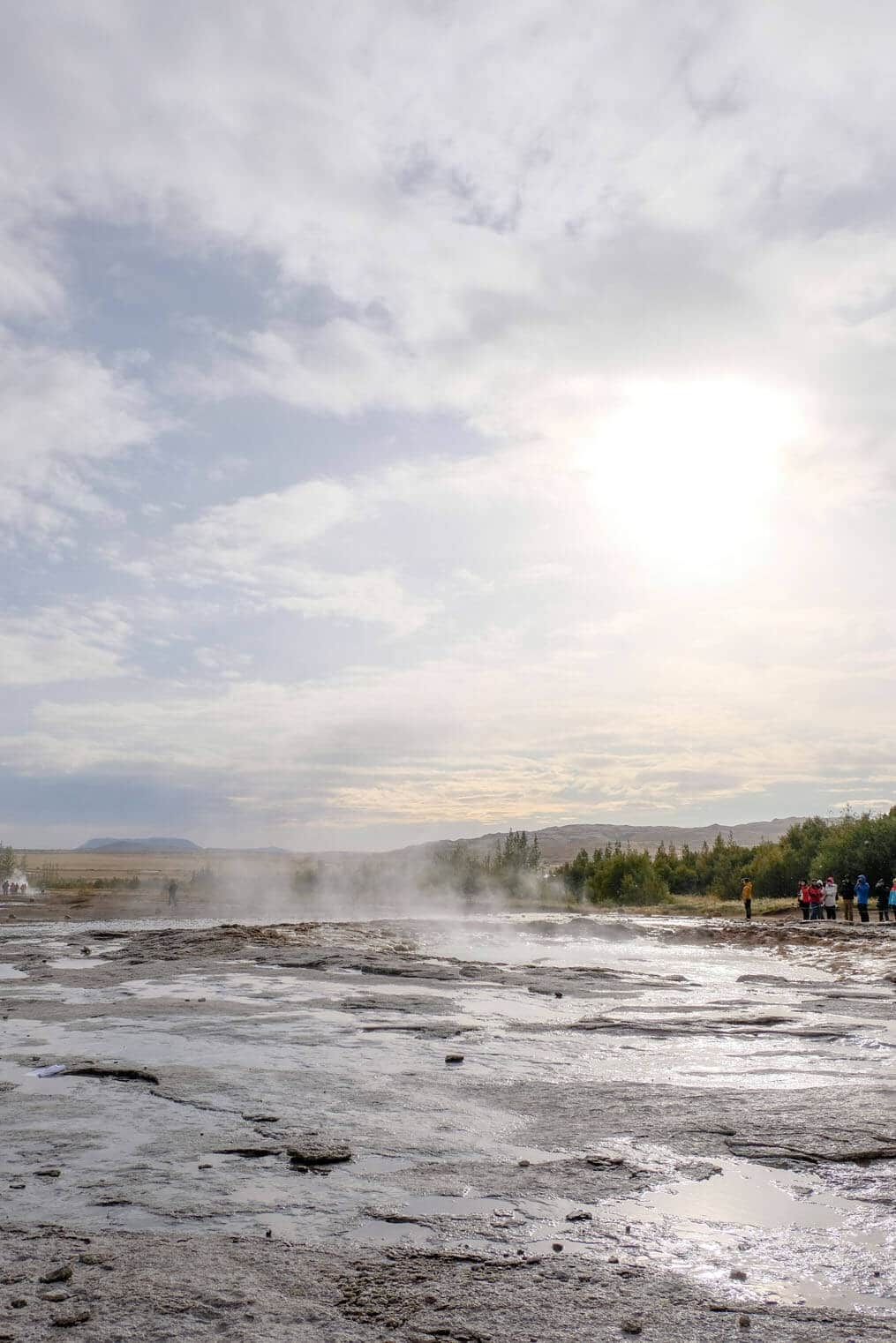 Geysir in the Golden Circle Iceland