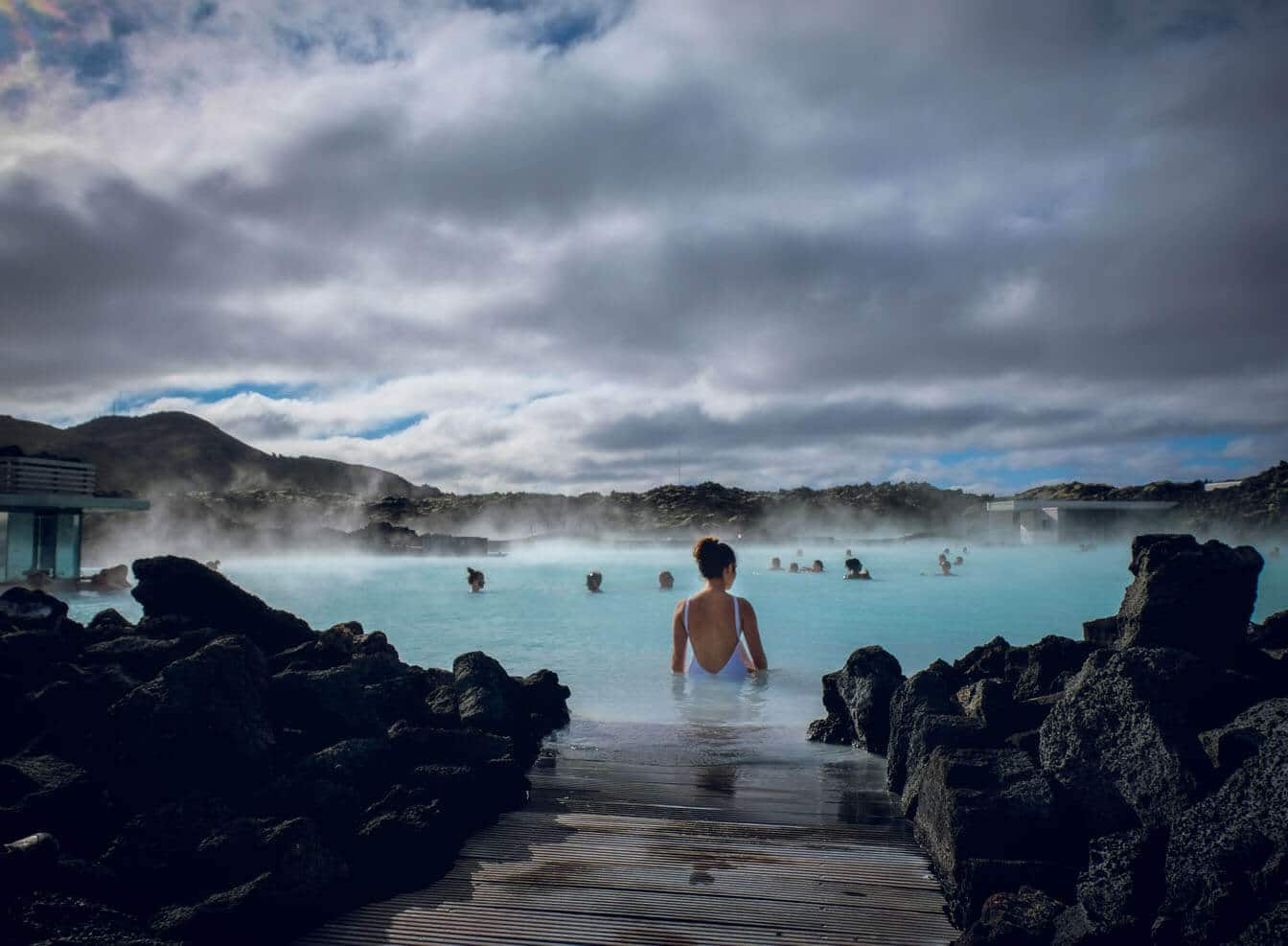 Visiting the Blue Lagoon, Iceland