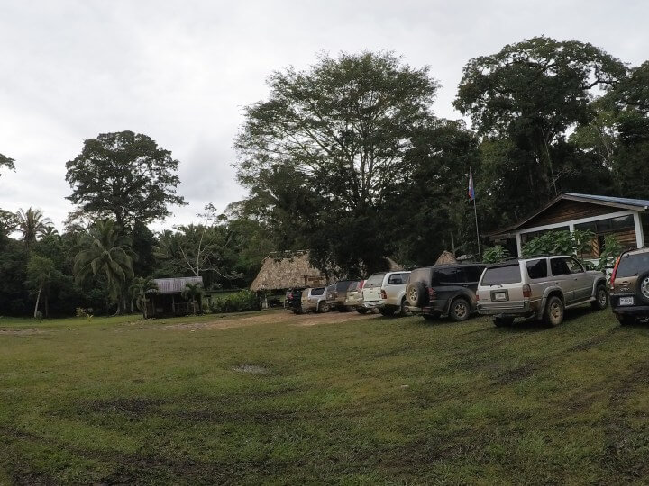 You need an SUV to drive to Caracol, Belize