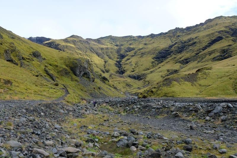 Hiking to Seljavallalaug Swimming Pool, Iceland