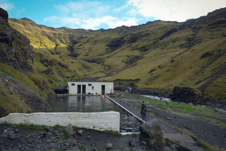 Seljavallalaug Swimming Pool, Iceland