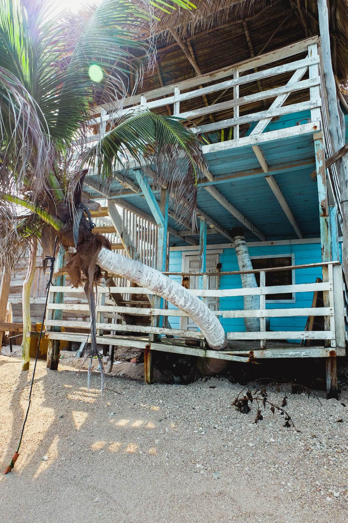 Houses you can rent on Chachahuate Cay, Cayos Cochinos, Honduras