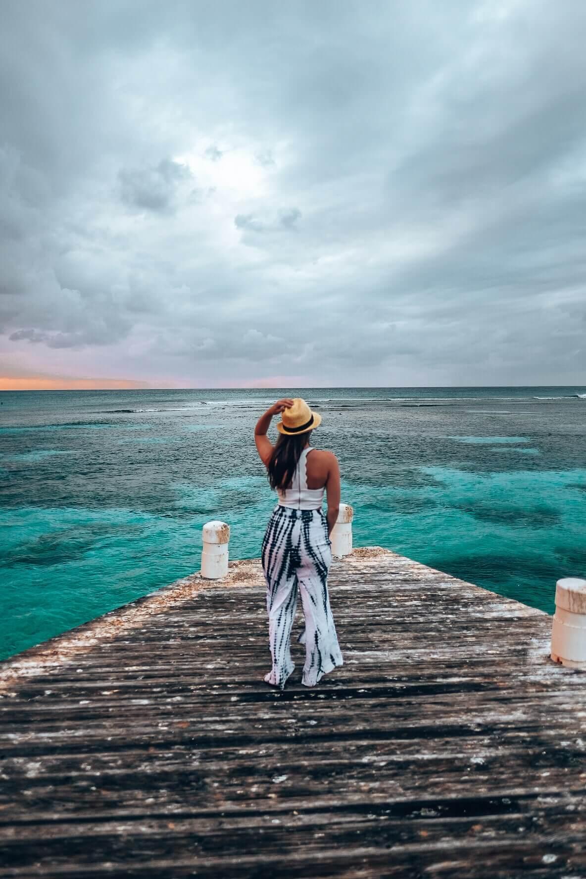 Sunrise in the Cayman Islands