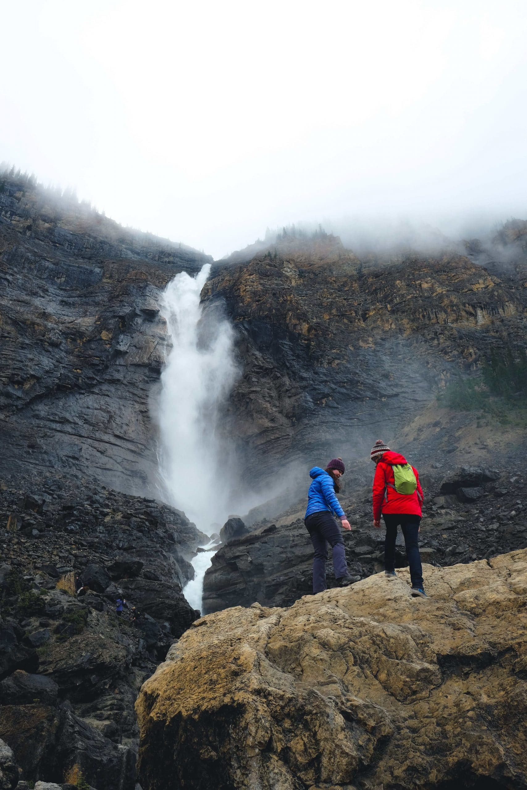 Exploring Takakkaw Falls