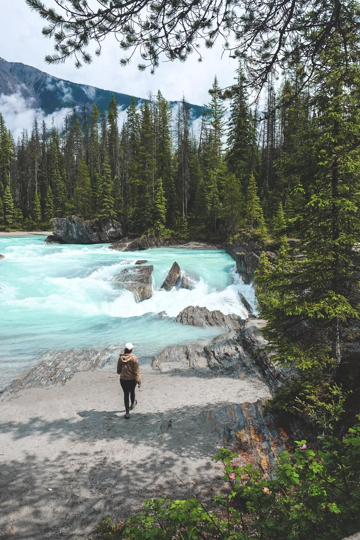 Places to see in Yoho National Park, one day itinerary