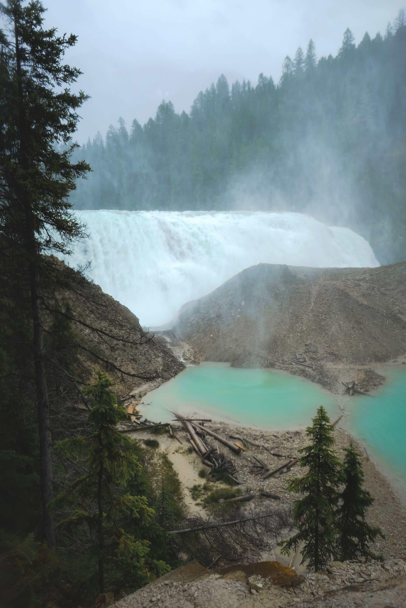 Best waterfalls in Yoho National Park