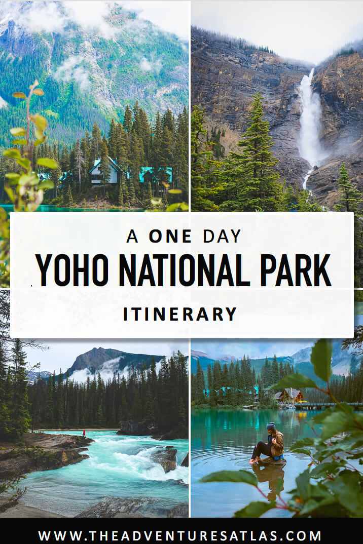 A one day Yoho National Park road trip itinerary