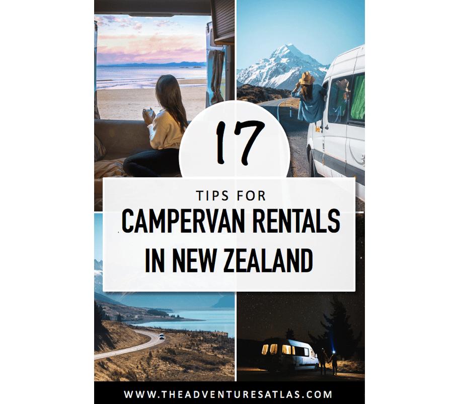 17 Tips for Campervan Rentals in New Zealand