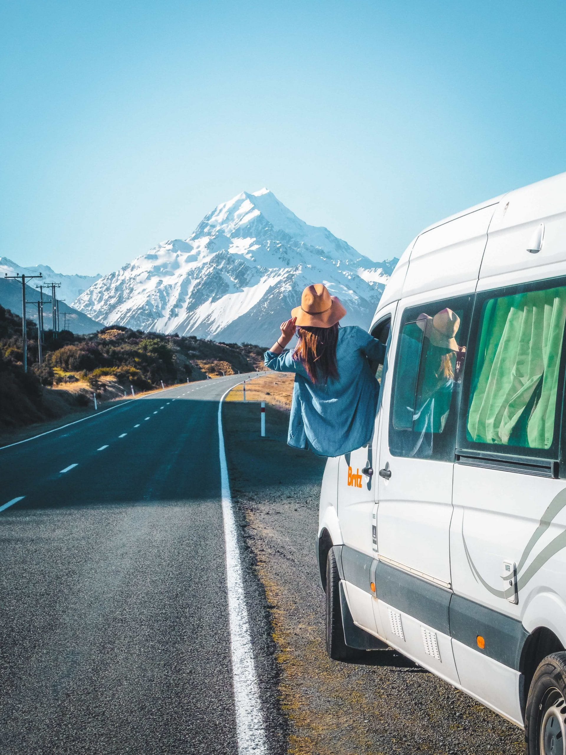 Roadtripping with Britz Campervans in Mt. Cook National Park
