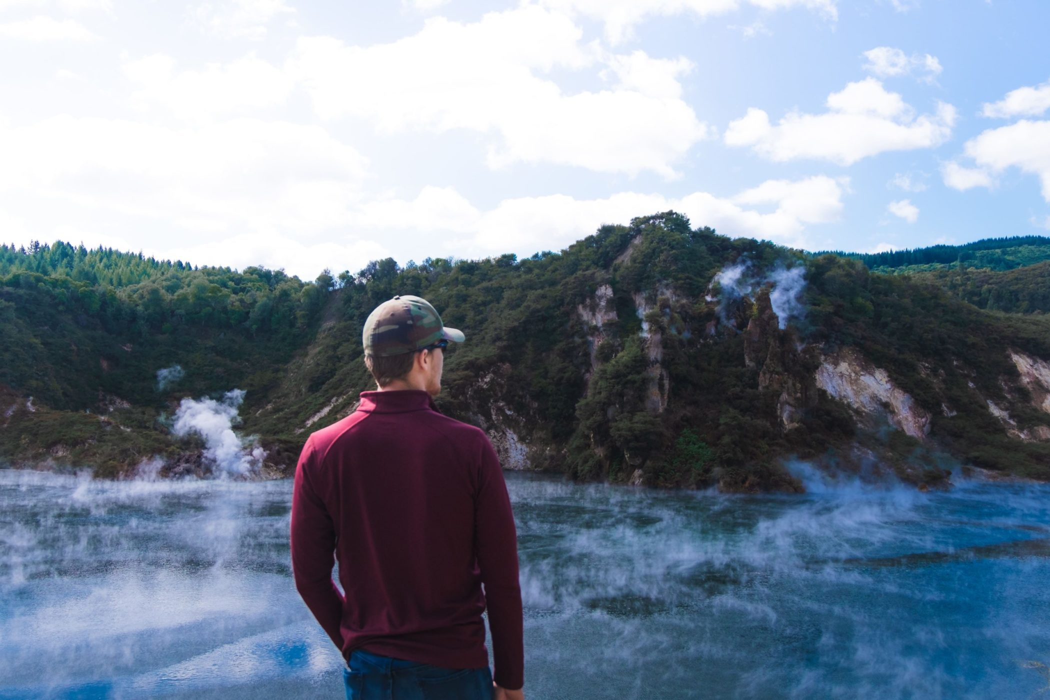 Taking a hike through Waimangu Volcanic Valley is one of the best things to do in Rotorua