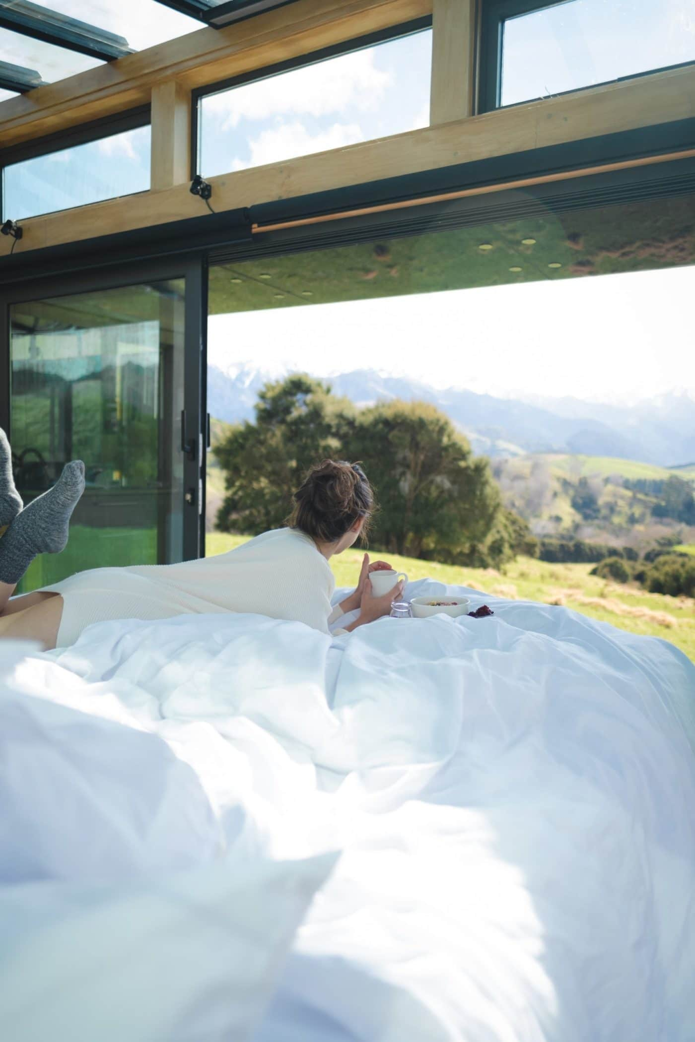Waking up in a Purepod New Zealand