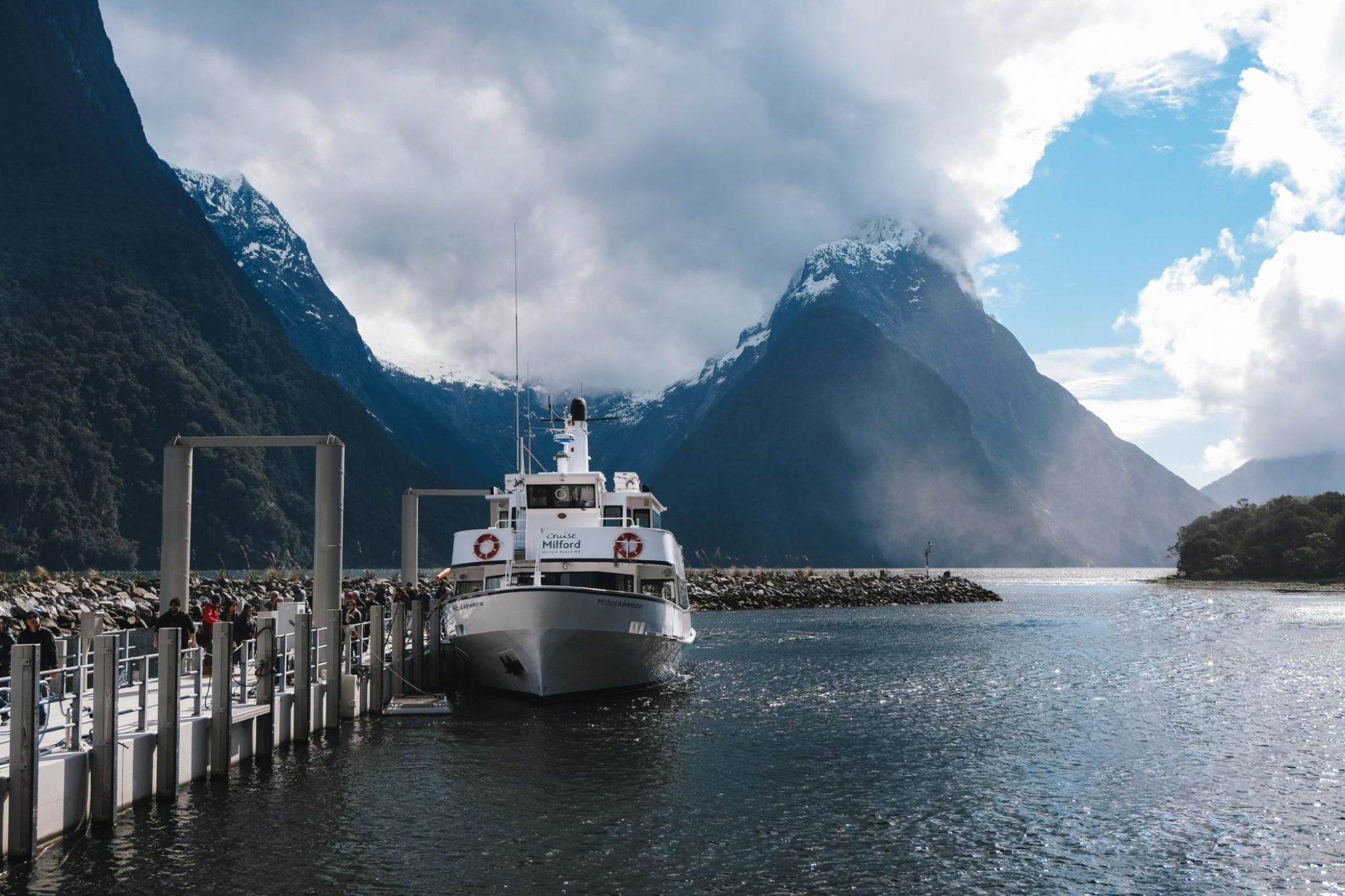 Booking a cruise is the best way to experience Milford Sound