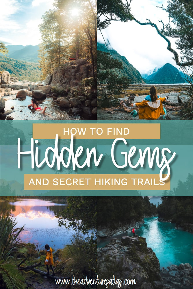 How to find Hidden Gems and Secret Hiking Trails