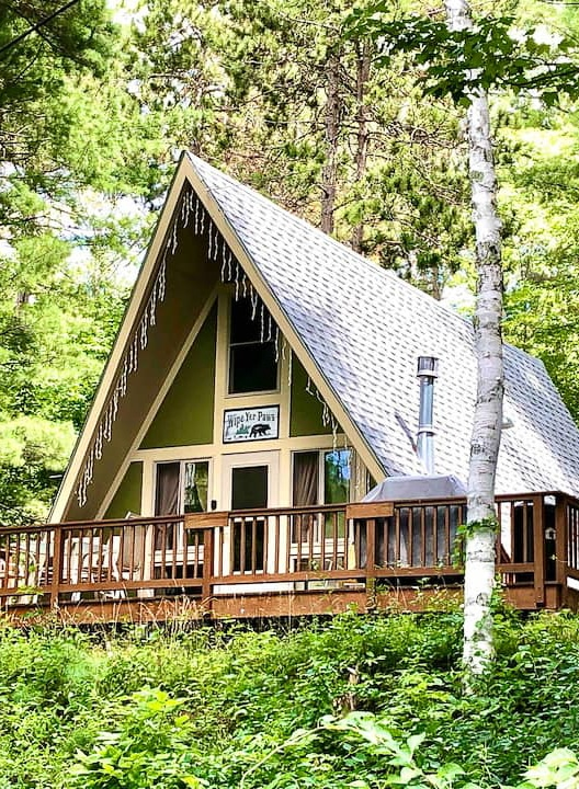 Cabin for rent near Whiteface Mountain