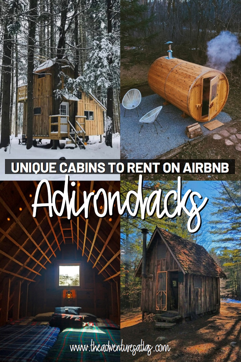 Unique cabins to rent on Airbnb in the Adirondacks