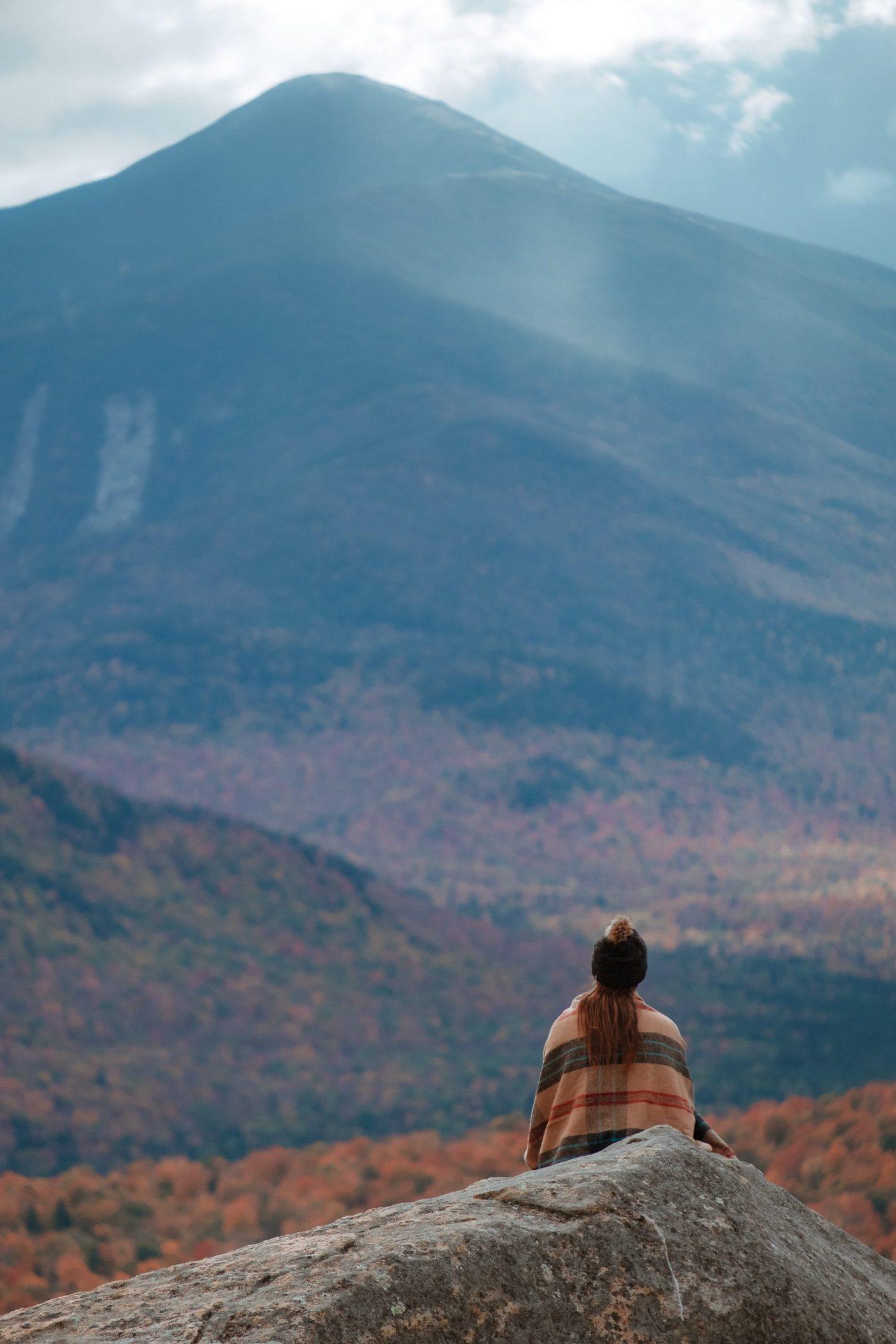 Balanced Rocks Summit Adirondacks