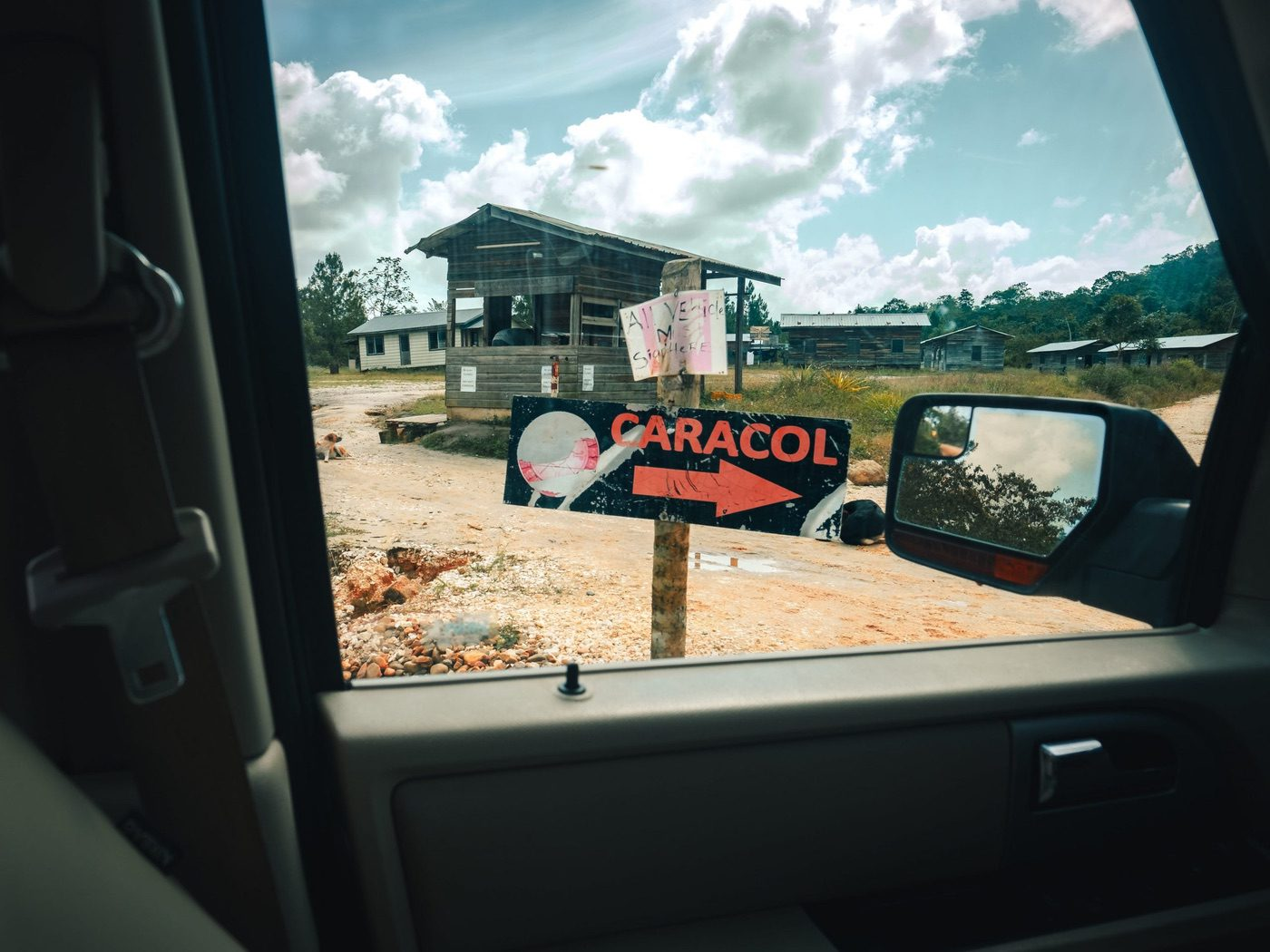 Checking in at the Belize Defense Force Base - things to know before you drive to Caracol