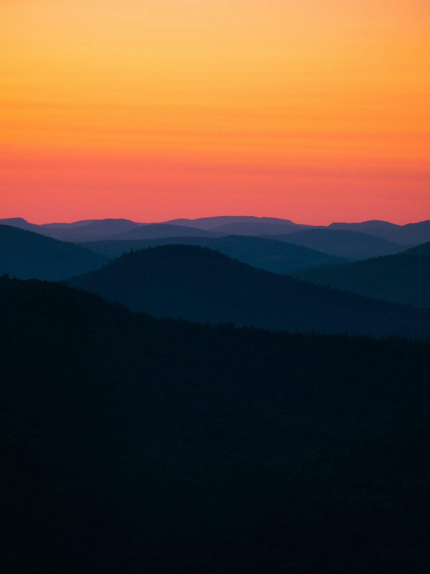 Mt Jo at sunset