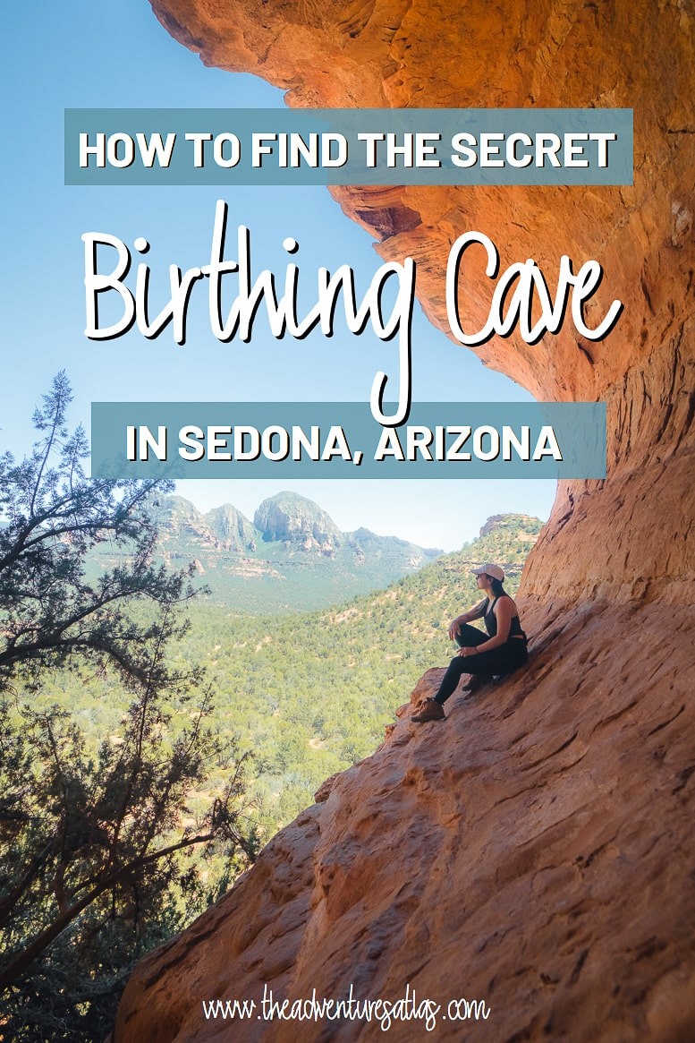 How to find the secret Birthing Cave in Sedona, AZ