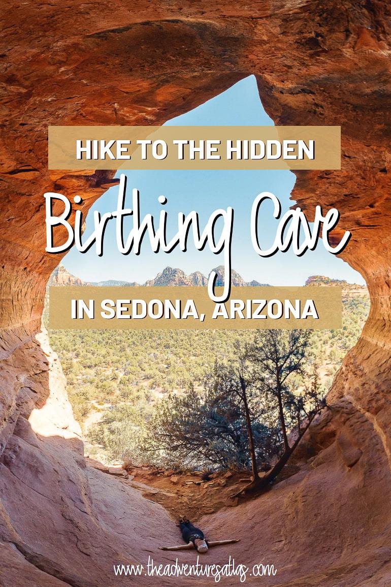 Hike to the hidden Birthing Cave in Sedona AZ