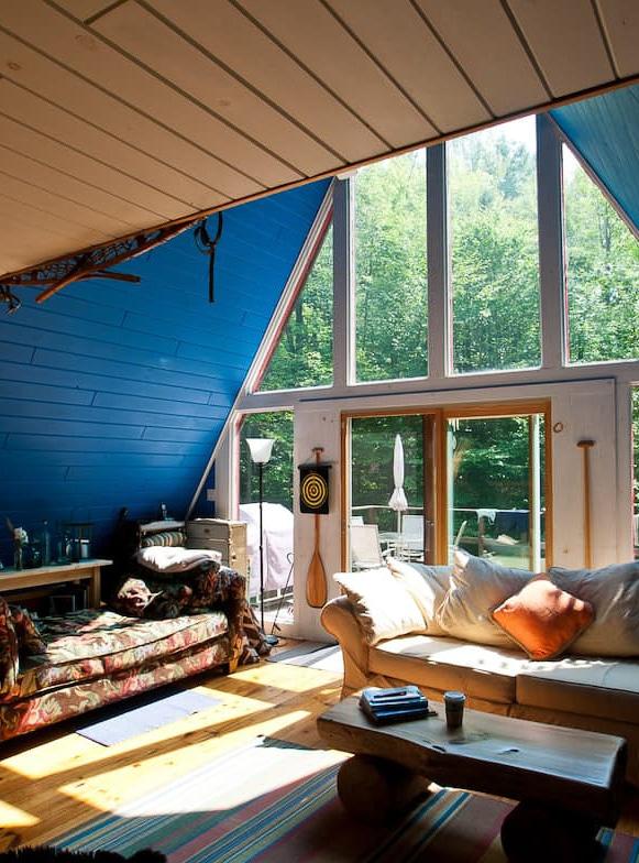 A-Frame Cabin rental near Lake Placid, NY