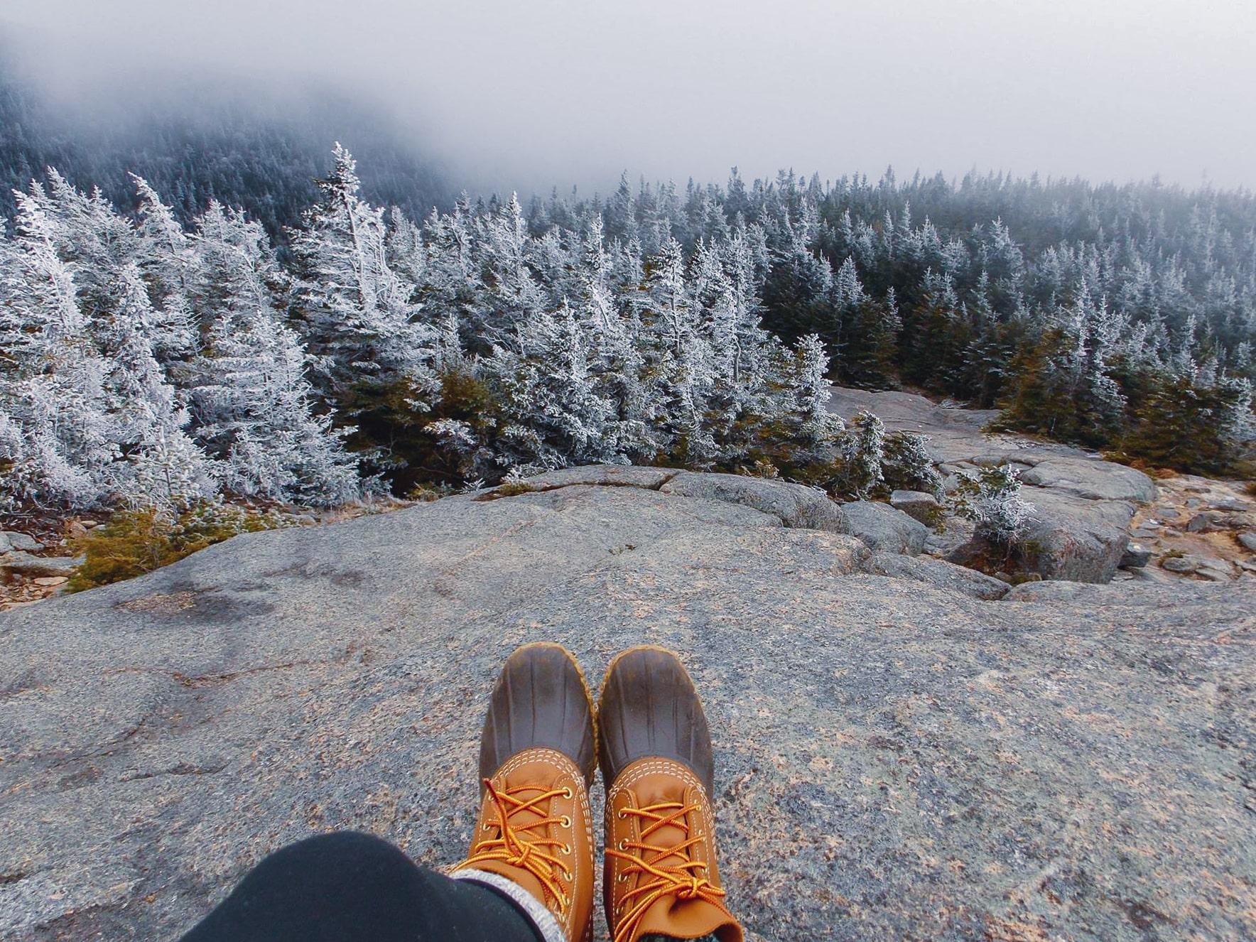 High Peak Trail near Lake Placid, NY
