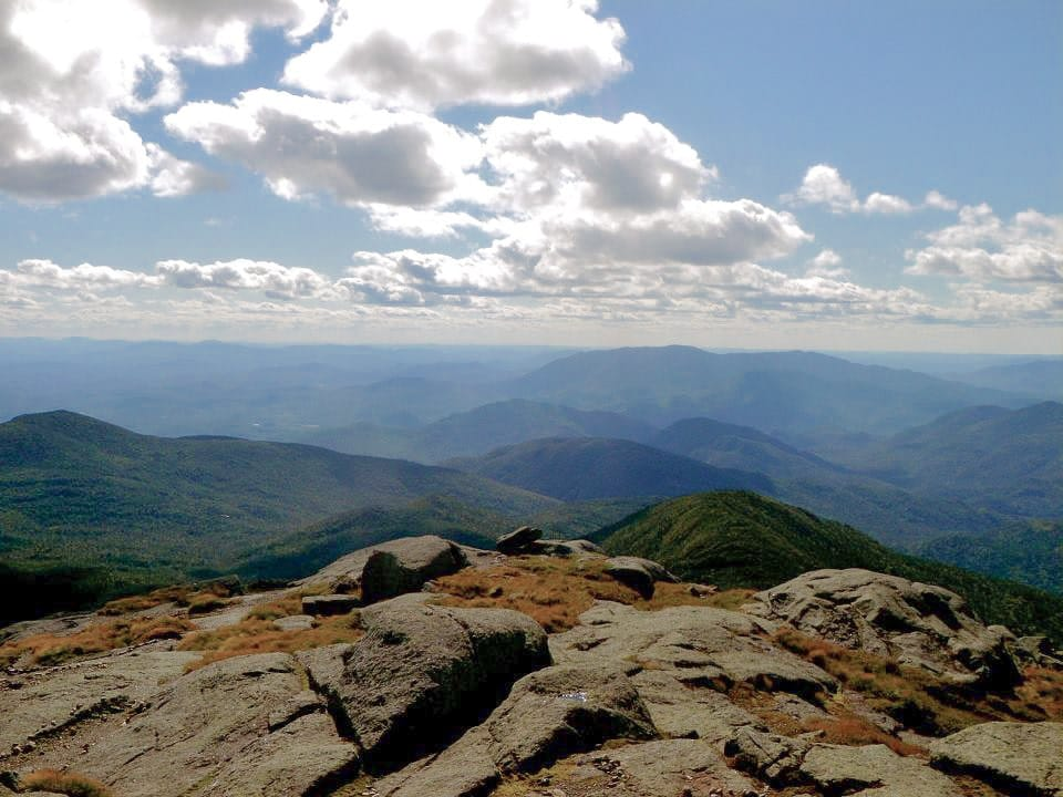 Summit of Mount Marcy, a hike near Lake Placid, NY