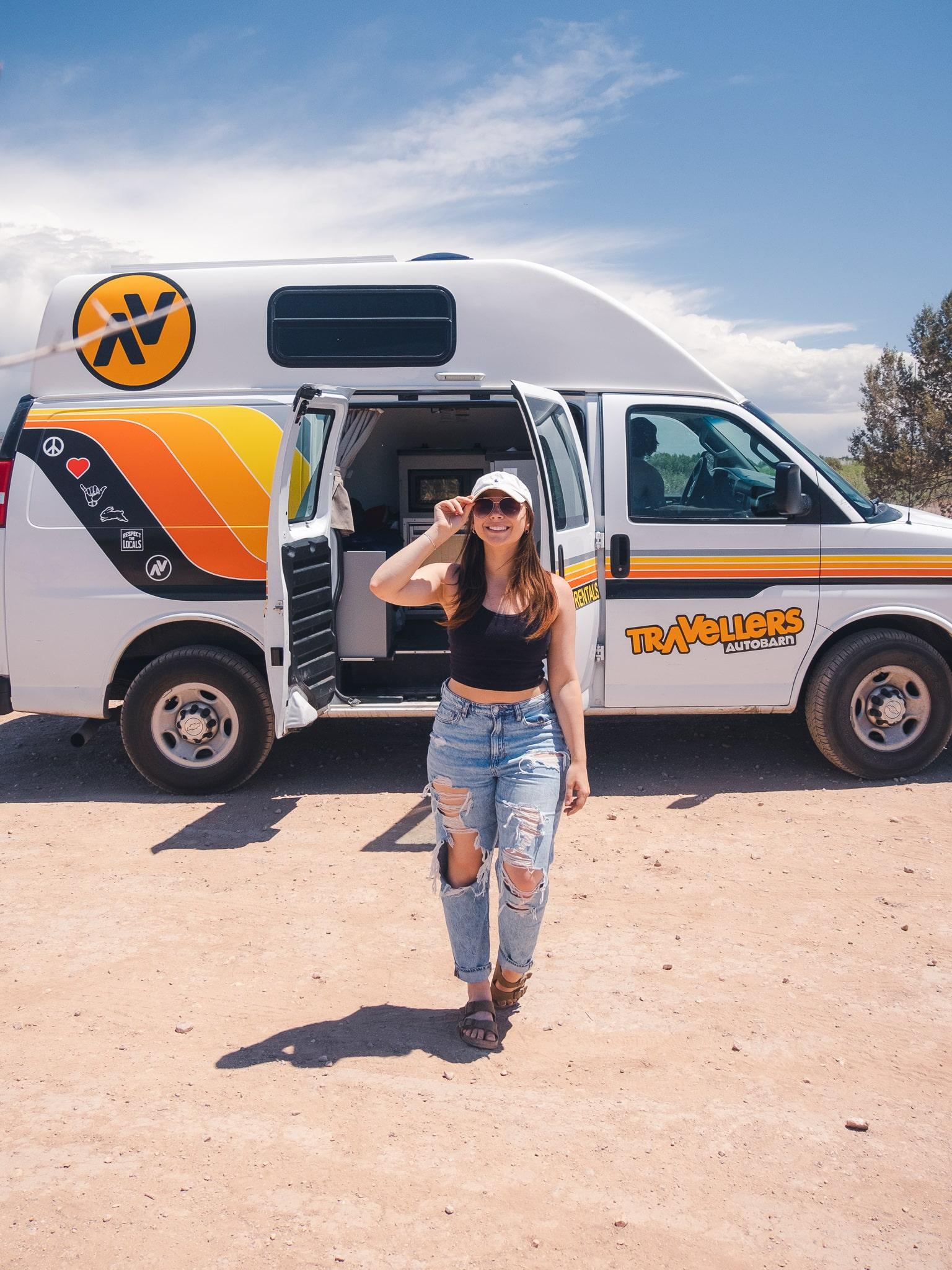 Renting a camper van for your Las Vegas to Sedona road trip