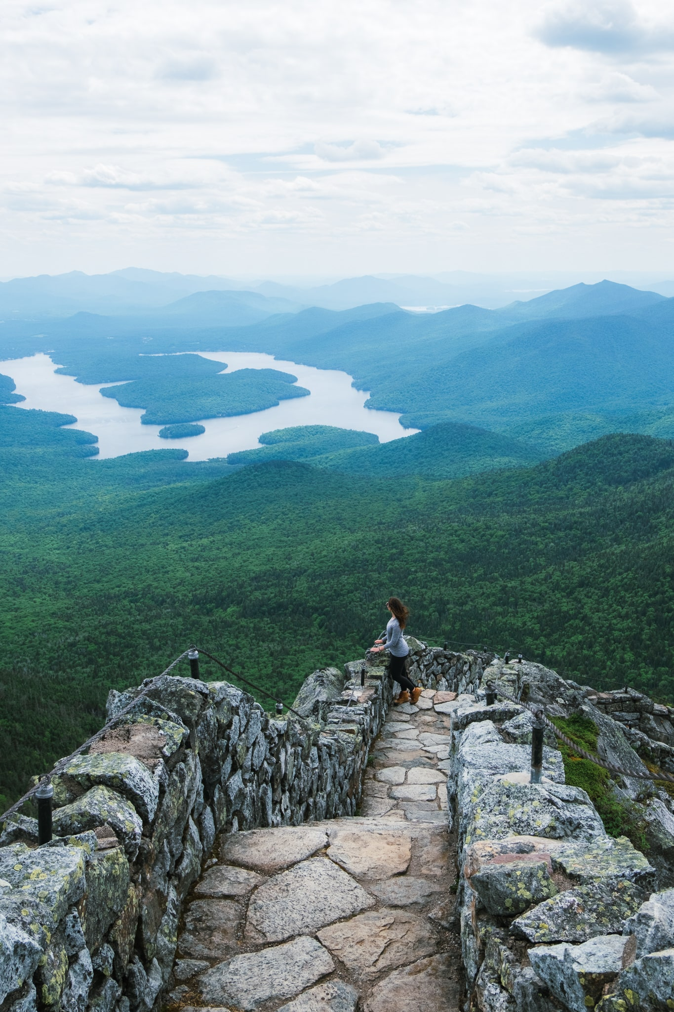 Whiteface Memorial Highway hike, Lake Placid NY