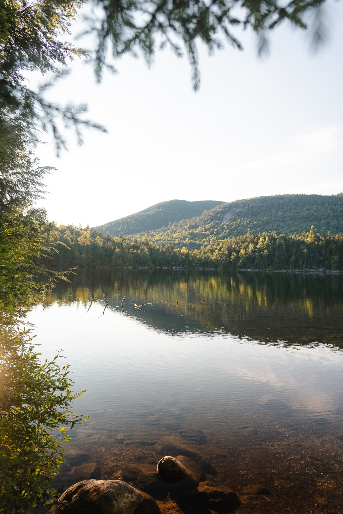 Copperas Pond is a short hike near Lake Placid in Upstate New York