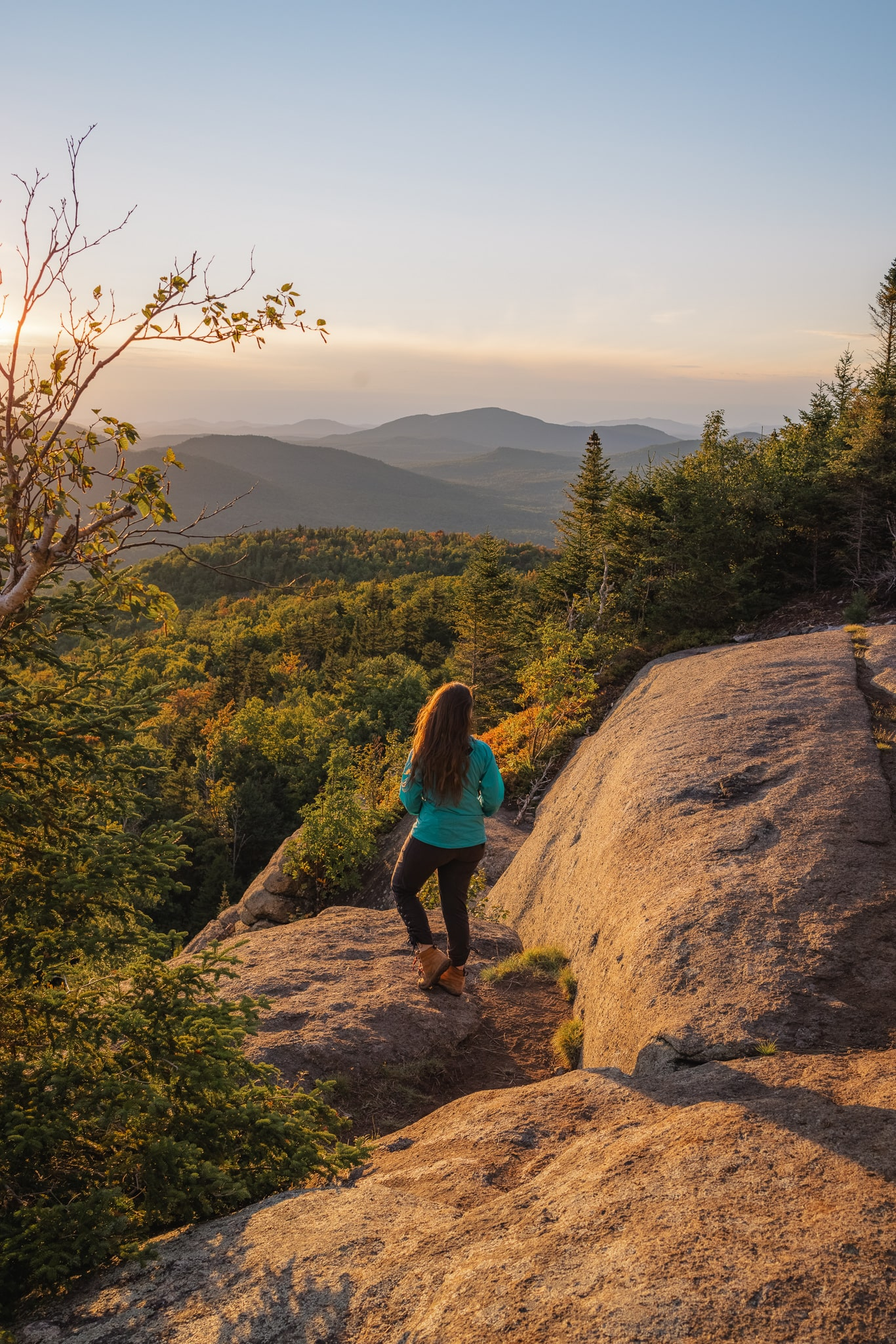 Hiking is one of the best things to do at Mount Van Hoevenberg